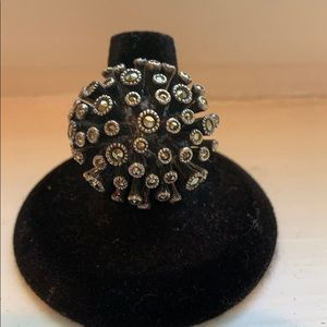 Jewelry - Sterling Silver and Marquisate Ring